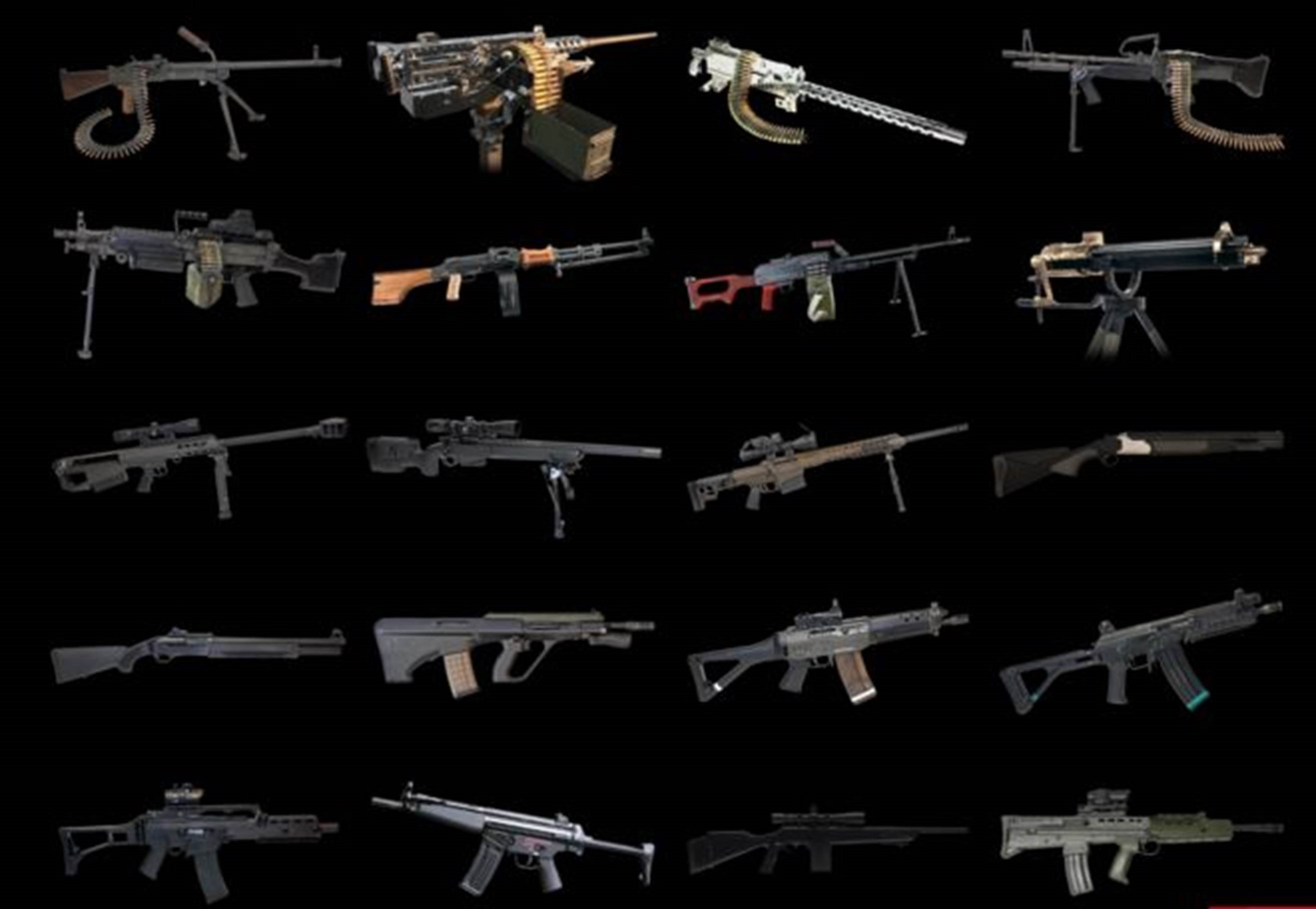 'Caça a zumbis', arma do Rambo e rifle para crianças: o mercado turístico das armas pesadas em Las Vegas