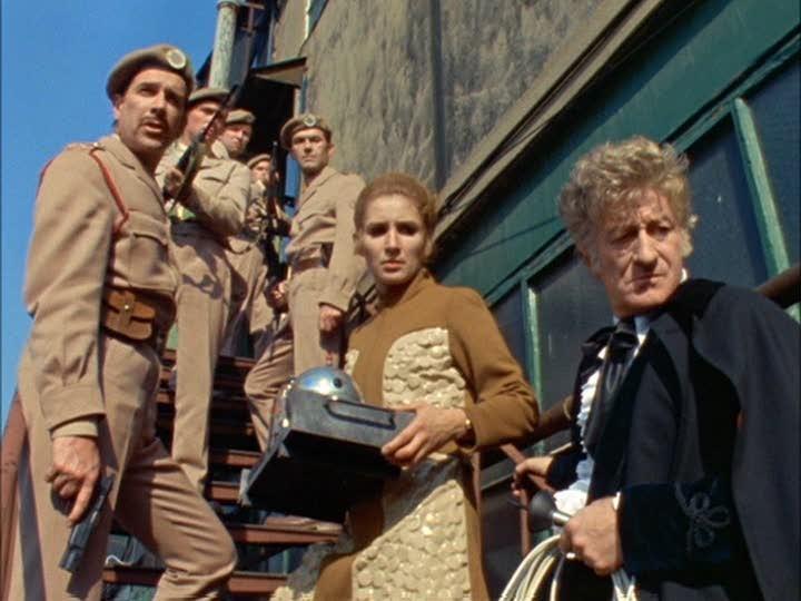 Spearhead from Space, primeiro episódio colorido de Doctor Who (Foto: Divulgação)