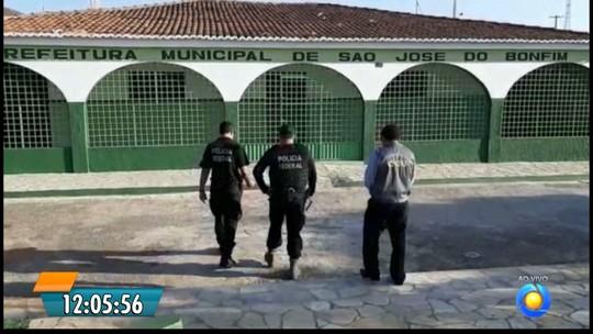 Polícia Federal cumpre mandados de prisão durante Operação Recidiva, na PB e no CE