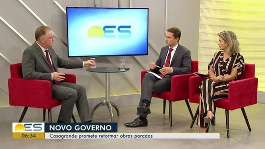 Renato Casagrande suspende convênios e abertura de novos concursos