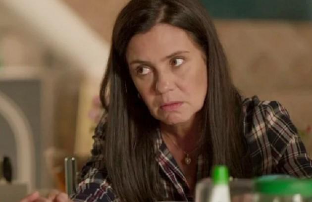 No sábado (14). Thelma (Adriana Esteves) vai descobrir que Danilo é Domênico (Foto: Reprodução)