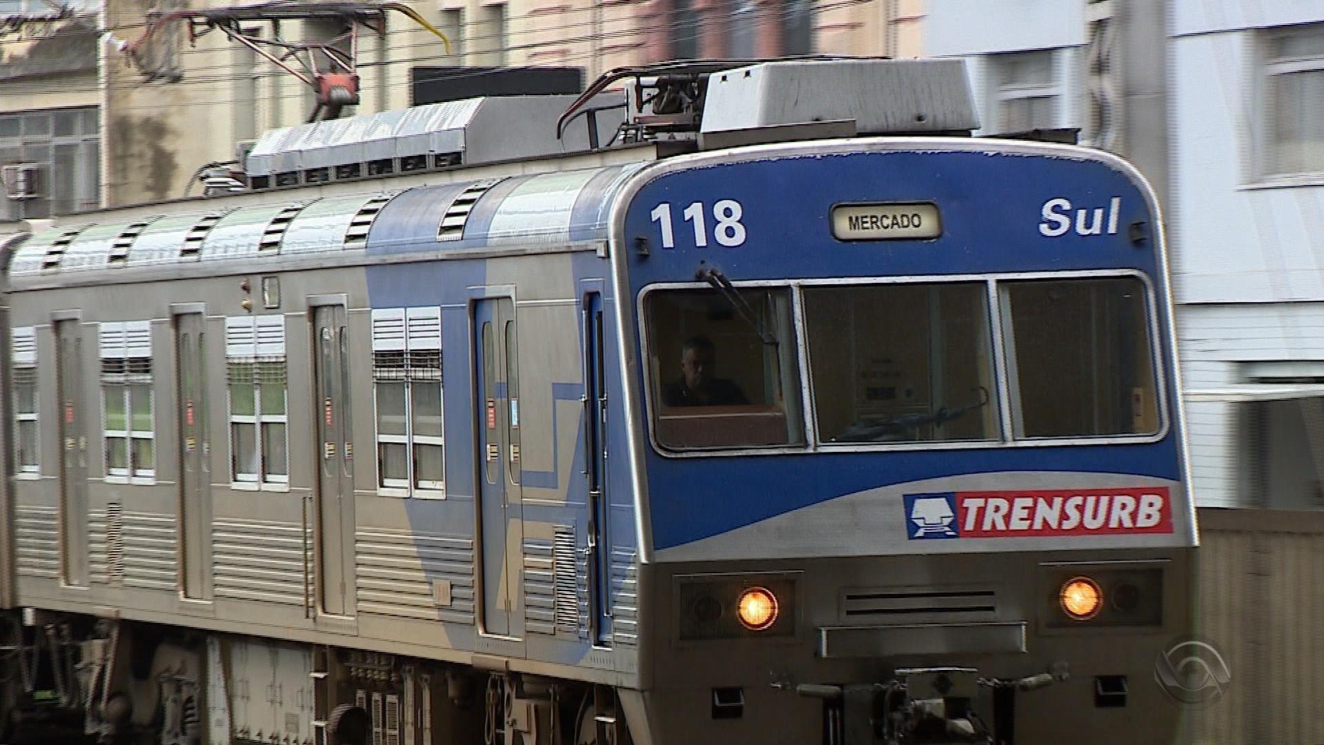 Trensurb opera com nova tabela horária e aumenta capacidade de transporte diário