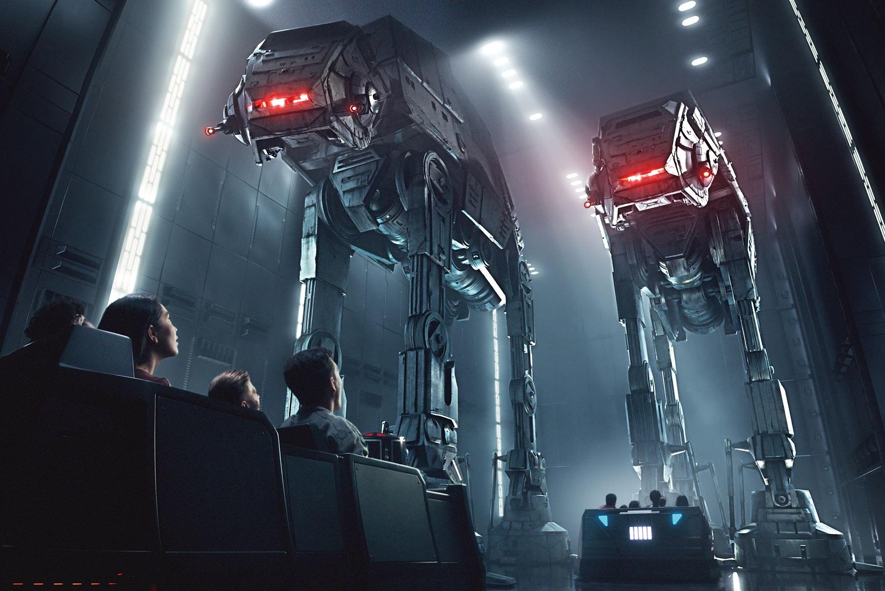 Na atração Galaxy's Edge, visitantes conhecerão novo planeta (Foto: Star Wars/ Divulgação)