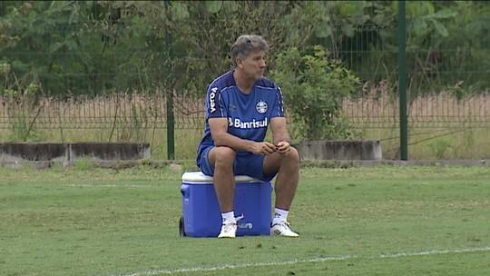 Luan deve ser desfalque do Grêmio contra o Flamengo na Libertadores