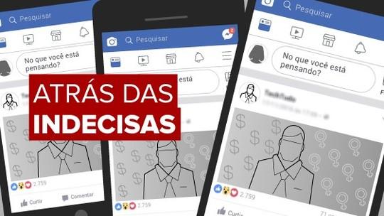 Resultado de imagem para Candidatos a presidente usam anúncios no Facebook para buscar eleitorado feminino