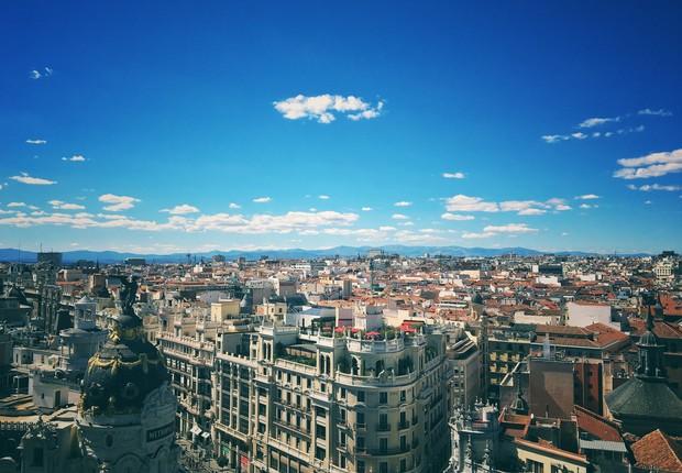 Madrid, na Espanha. A ideia inicial seria apresentar uma candidatura única, mas o país não descarta a hipótese de unir forças com Portugal ou Marrocos (Foto: Pexels)