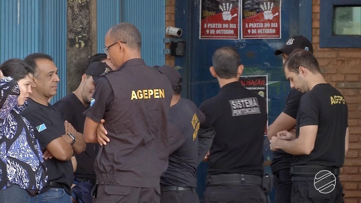 Justiça determina retorno imediato de agentes penitenciários ao trabalho em Campo Grande