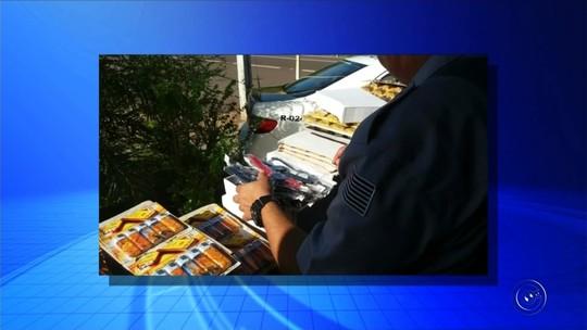 Polícia de Andradina apreende mercadorias contrabandeadas