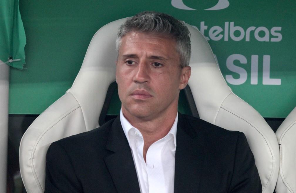 Hernán Crespo em jogo do São Paulo — Foto: Rubens Chiri / saopaulofc.net