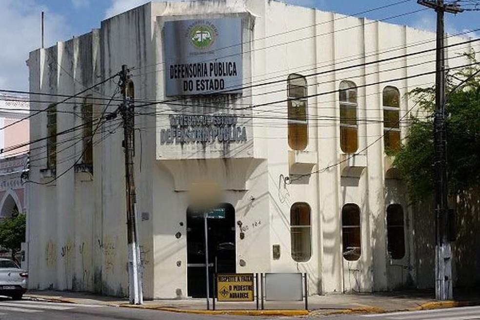 Sede da Defensoria Pública do RN na Zona Leste de Natal — Foto: DPE/Divulgação