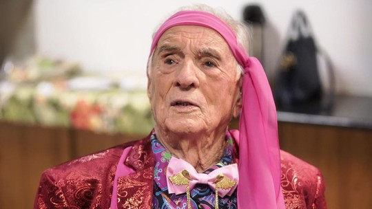 Eterno 'Seu Peru', Orlando Drummond comemora 100 anos