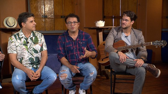 Del Feliz, Verlando Gomes e Allan Requião falam da importância da zabumba, sanfona e triângulo para a música