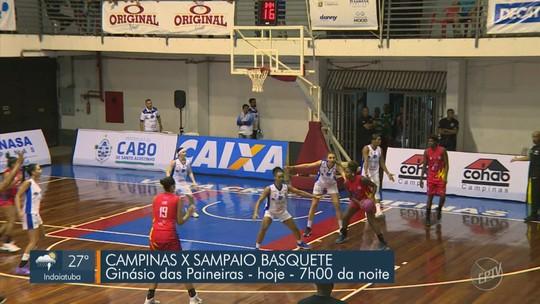 """Em """"esquenta"""" para os playoffs da LBF, Sampaio Corrêa supera Campinas na prorrogação"""