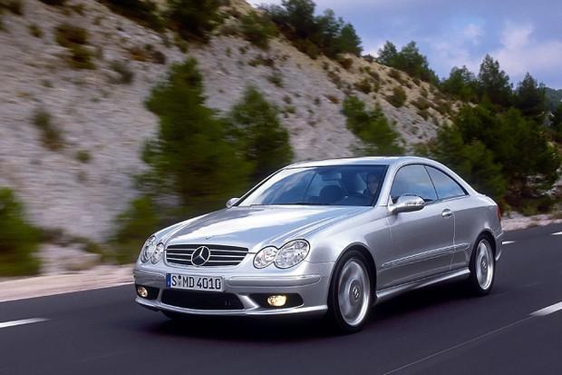 Mercedes-Benz CLK55 AMG (Foto: Divulgação)