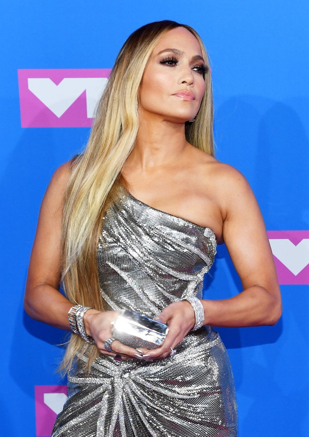 NEW YORK, NY - AUGUST 20:  Jennifer Lopez attends the 2018 MTV Video Music Awards at Radio City Music Hall on August 20, 2018 in New York City.  (Photo by Nicholas Hunt/Getty Images for MTV) (Foto: Getty Images for MTV)