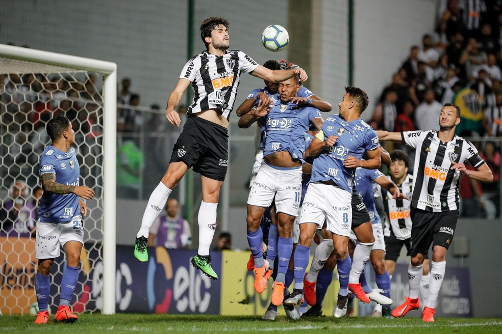 Cruzeiro e Atlético-MG vão para o sétimo duelo na atual temporada — Foto: Bruno Cantini