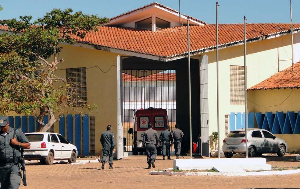 Penitenciária Estadual de Alcaçuz, no RN (Foto: Ricardo Araújo/G1)