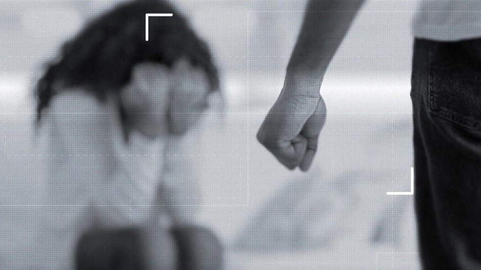 Violência contra a mulher precisa ser denunciada, de acordo com a polícia e a Justiça — Foto: Reprodução/TV Globo
