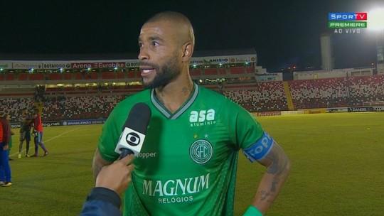 """Ferreira destaca ponto ganho fora: """"Vai fazer diferença lá na frente"""""""