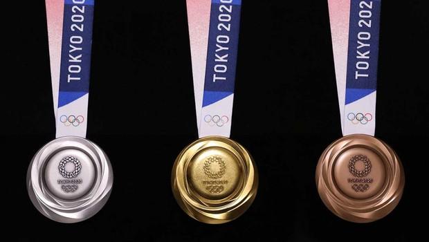 Resultado de imagem para medalhas de tóquio