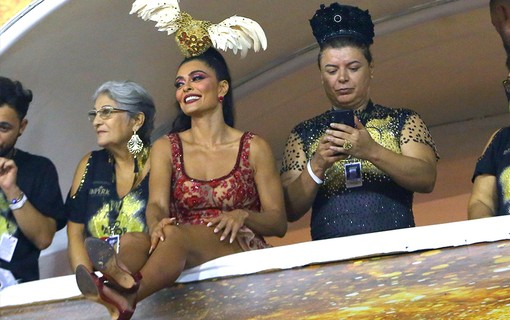 Juliana Paes e David Brazil