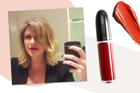"Gabriela Saad, produtora executiva: ""meu favorito é a cor Dance With Me, da linha Retro Matte Liquid Lipcolour, da MAC"""