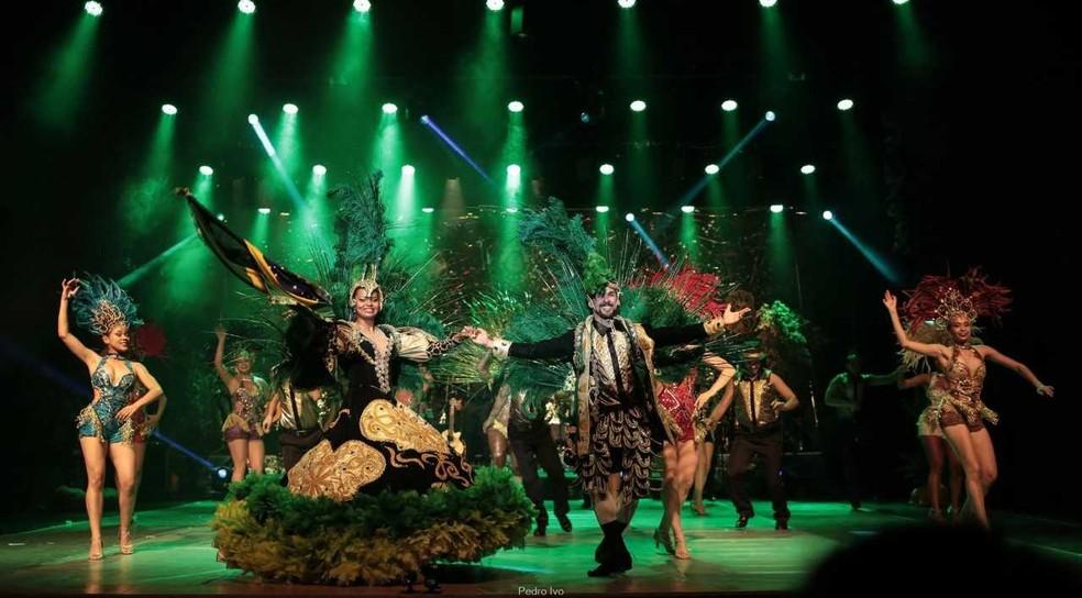 Mato Grosso Dançando o Brasil reúne os mais diferentes ritmos e garante a harmonia no palco (Foto: Luiz Henrique Menezes / Divulgação)