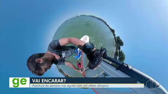 """""""Vai Encarar?"""" aprende a velejar com Bimba, campeão mundial e pan-americano no windsurf"""
