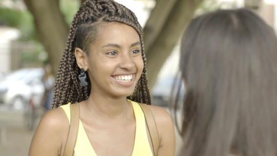 Jaqueline tem encontro surpreendente com sua irmã, Milena