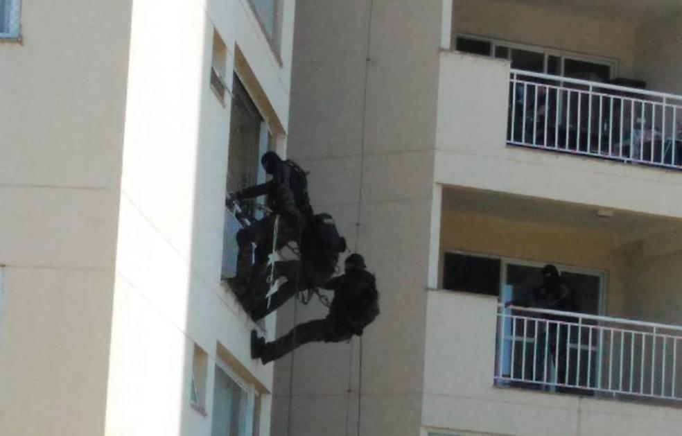 Gate foi acionado na ocorrência em Itatiba — Foto: Divulgação