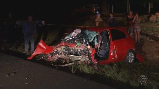 Idosa morre em acidente com quatro veículos na BR-153 em Nova Granada