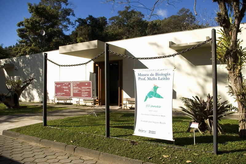 Museu de Biologia Professor Mello Leitão (Foto: Reprodução/wikimediacommons)