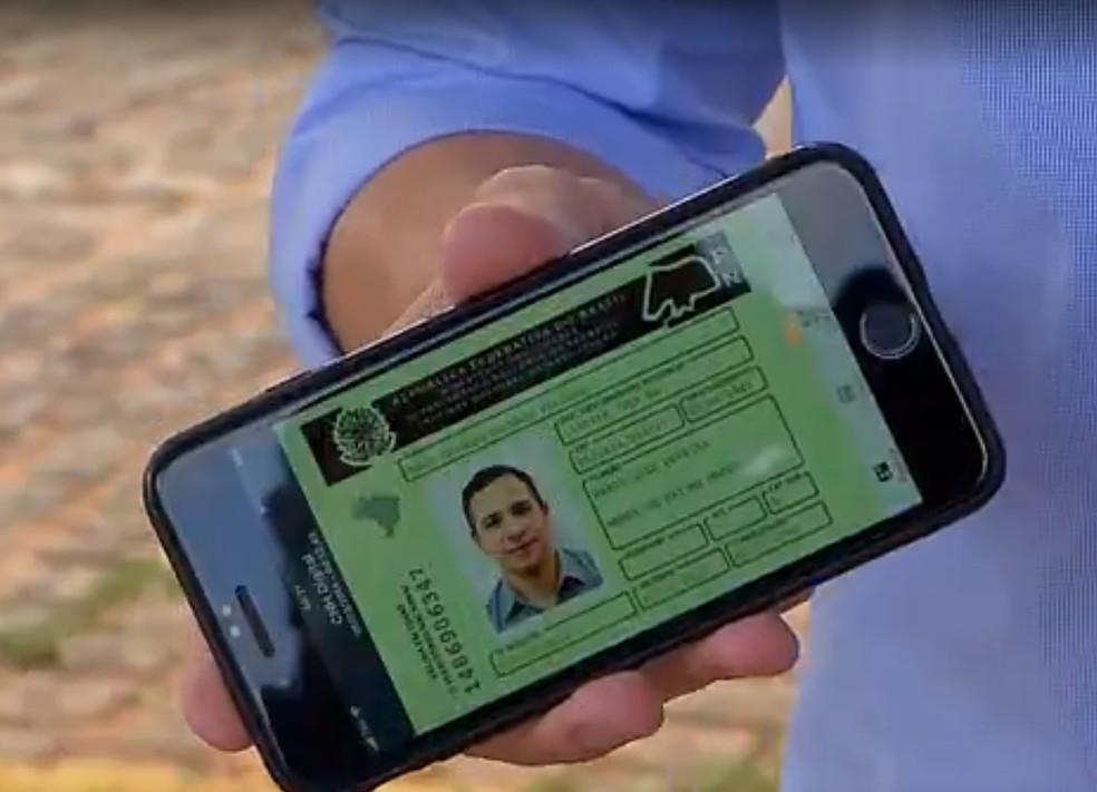 Cerca de 3 mil motoristas emitiram CNH digital (Foto: Detran/Divulgação)