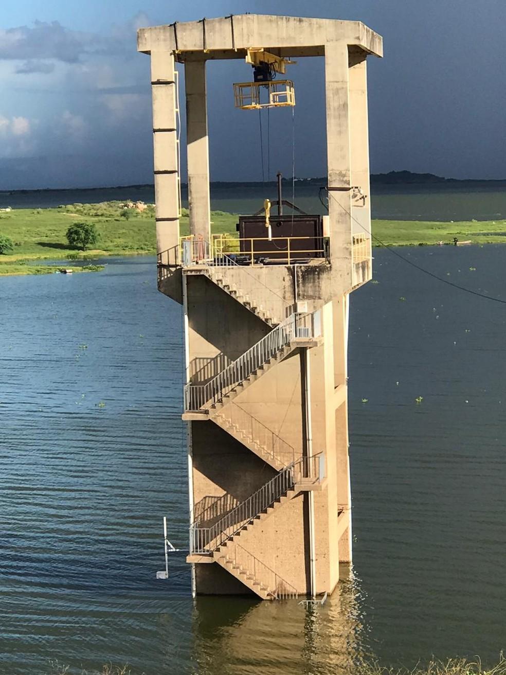 Melhora na situação da barragem Armando Ribeiro, o maior reservatório do RN, contribuiu com evolução dos números — Foto: Divulgação