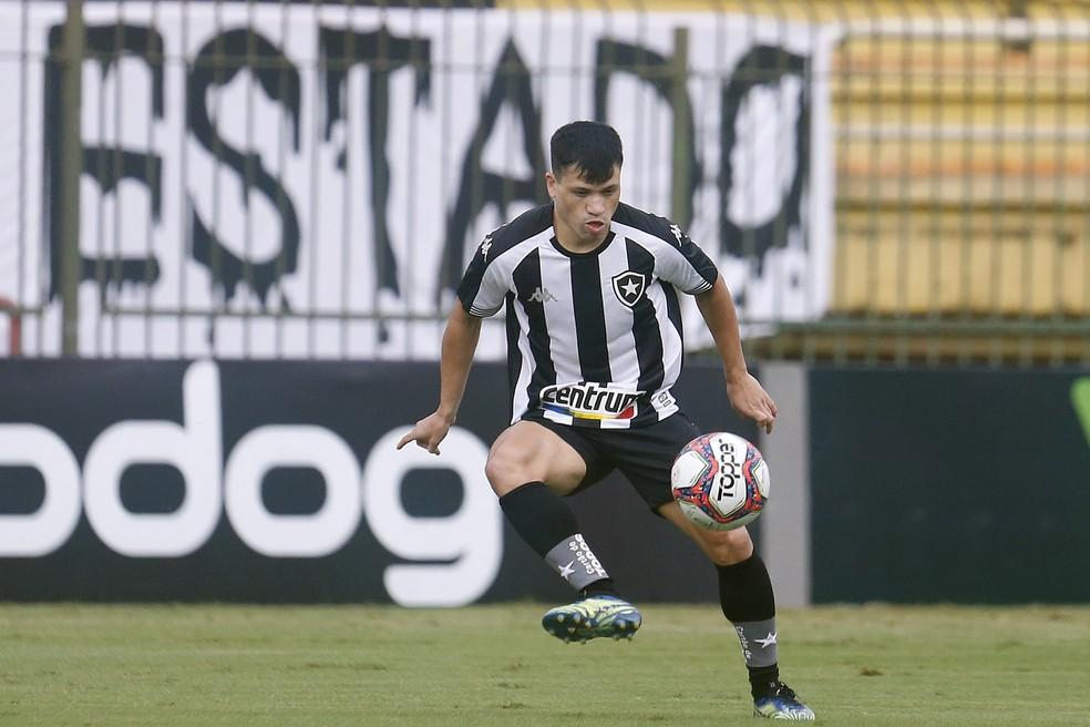 Ronald foi um dos destaques do Botafogo contra o Remo — Foto: Vitor Silva/Botafogo