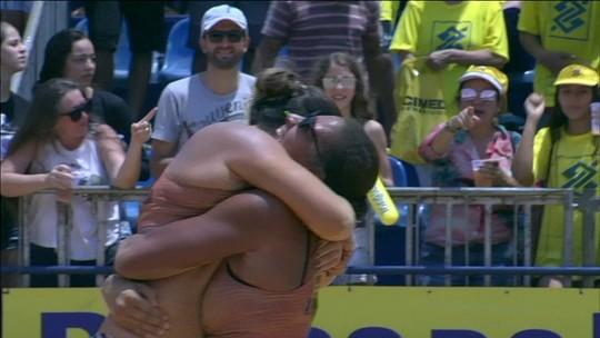 Em duelo da nova geração, Ana Patrícia e Rebecca conquistam etapa de Palmas