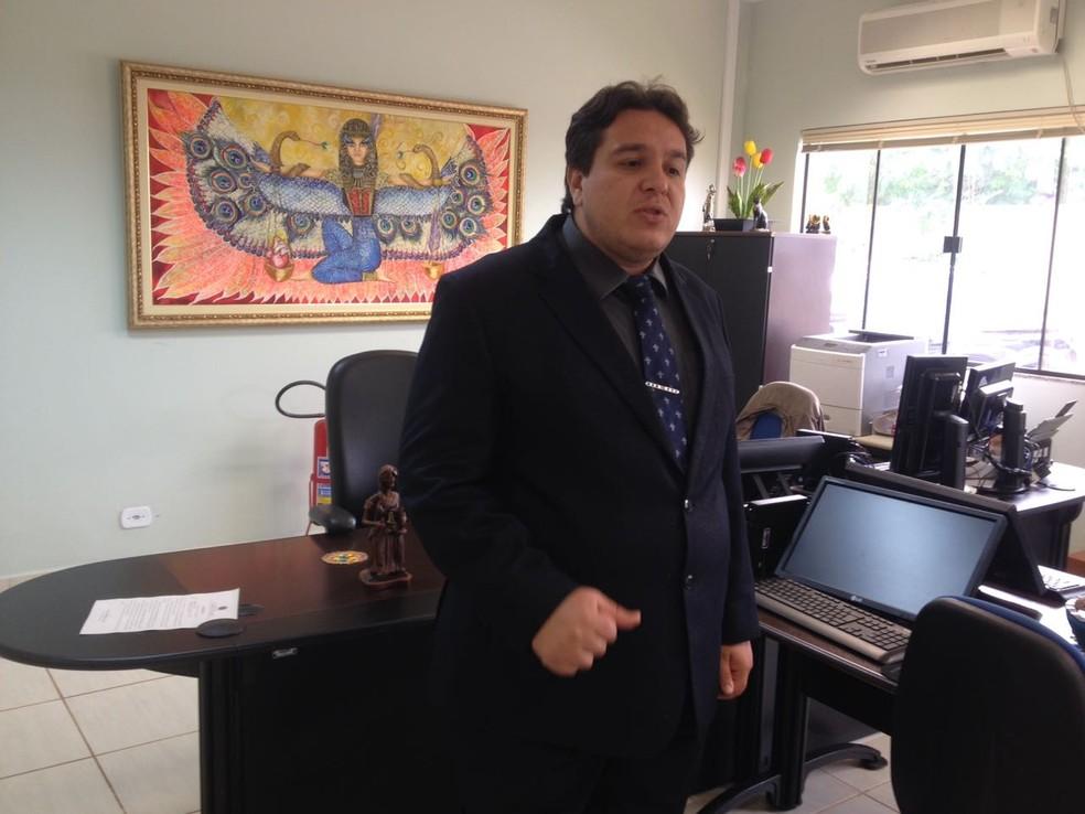 Juiz titular da 14ª Vara do Trabalho Carlos Antônio Chagas Júnior  (Foto: Júnior Freitas/G1)
