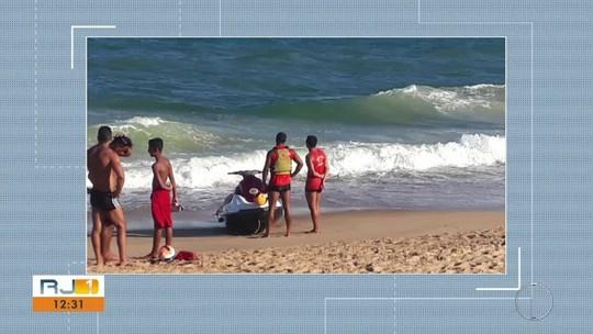 Corpo de adolescente que sumiu no mar é encontrado em praia de Casimiro de Abreu, no RJ
