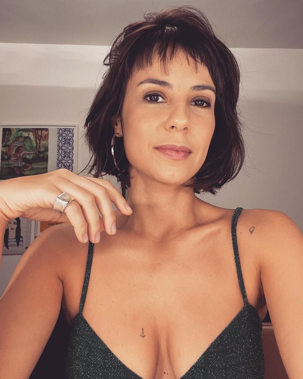 Andréia Horta dá conselhos inspiradores para as mulheres que desejam a força de Maria Clara  — Foto: Reprodução/Instagram