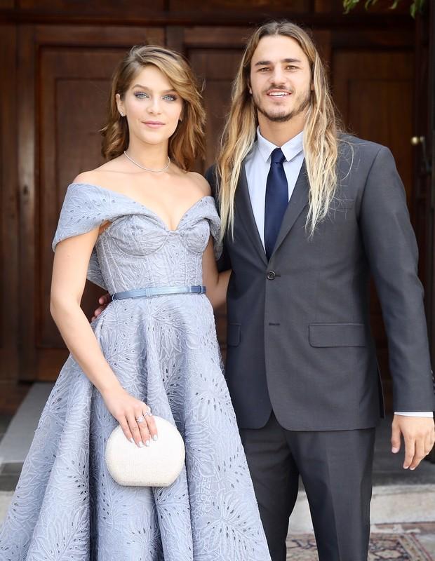Isabella Santoni e Caio Vaz (Foto: Manuela Scarpa e Marcos Ribas/Brazil News)