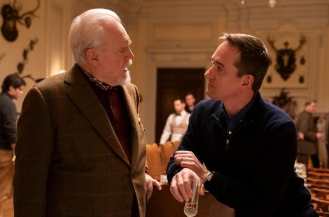 Cena do terceiro episódio da segunda temporada de 'Succession' (Foto: HBO)