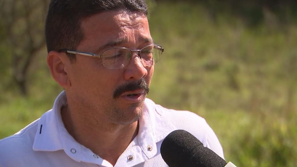 José Romero dos Santos fala sobre sumiço de netos e filho em Boituva — Foto: Reprodução/TV TEM