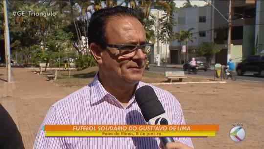 Gusttavo Lima confirma 3ª edição do futebol solidário em Patos de Minas