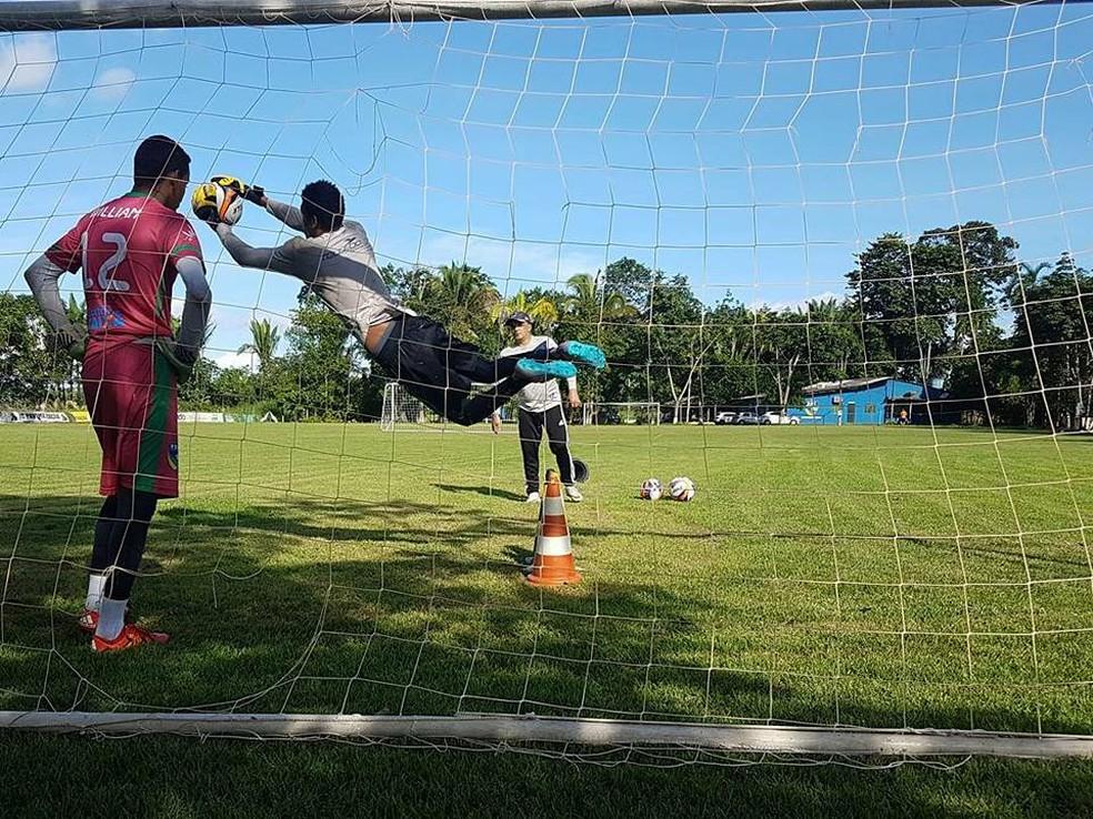 Rondoniense se prepara para Estadual 2018 (Foto: Flávio Daniel/ arquivo pessoal )