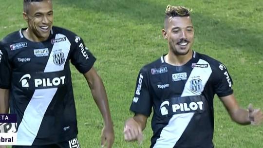Após chapéu e passe, Arnaldo leva méritos por gol da Ponte e ganha jantar de Hugo Cabral