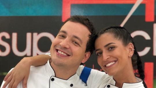 Maria Joana e Rafael Cortez conquistam imunidade no 'Super Chef'