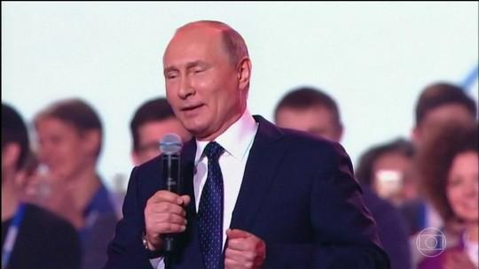 Putin é favorito na eleição presidencial russa deste domingo