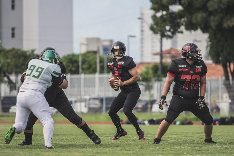 551e97a0a Brasil Bowl  João Pessoa Espectros e Galo Futebol Americano fazem ...