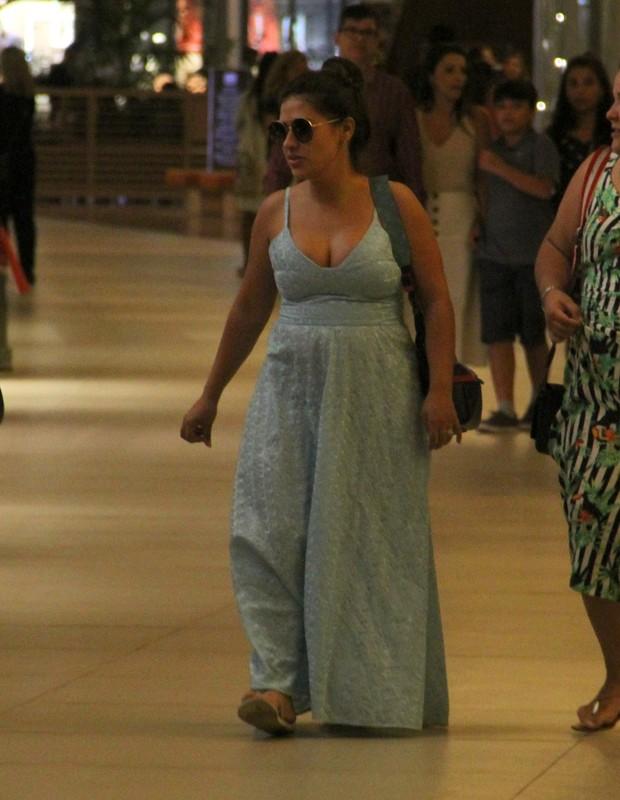 Simone passeia no Rio (Foto: AgNews /J Humberto)