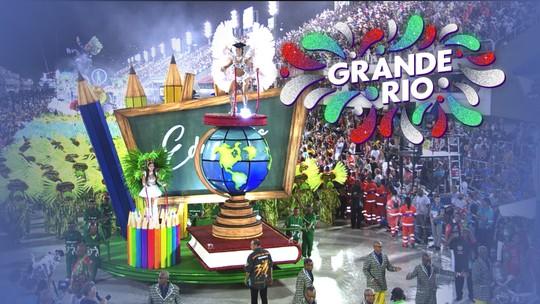 Grande Rio - Grupo Especial (RJ) - Íntegra do desfile de 03/03/2019